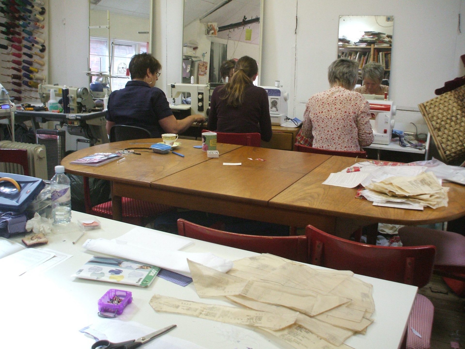 Sewing & Dressmaking Classes in Leeds City Centre, Skirt Making. Learn to make & fit a basic skirt using your own machine & pattern