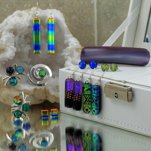 Beautiful Glass Jewellery by Trudy Haigh, independent jeweller leeds city centre, wedding jewellery, gifts, mother's day presents