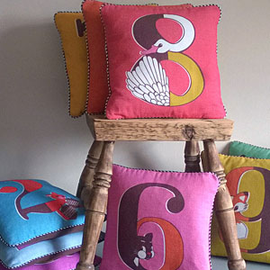 Vibrant homewares and accessories for children and adults. Available from Fabrication Crafts the best place to shop in Leeds, for all your interior needs