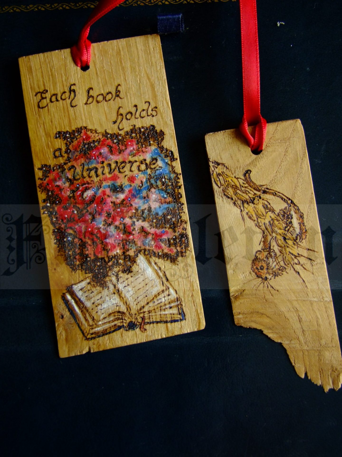 Handcrafted and handtooled lovingly made wooden items and pyrography from FiftyEleven, sold at Fabrication Crafts Independent shopping in Leeds.