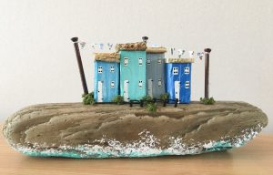 Drifting DownTime by Nicola Furbisher: Keepsakes for anyone who loves the sea and its treasures. Available from Fabrication Crafts, Leeds