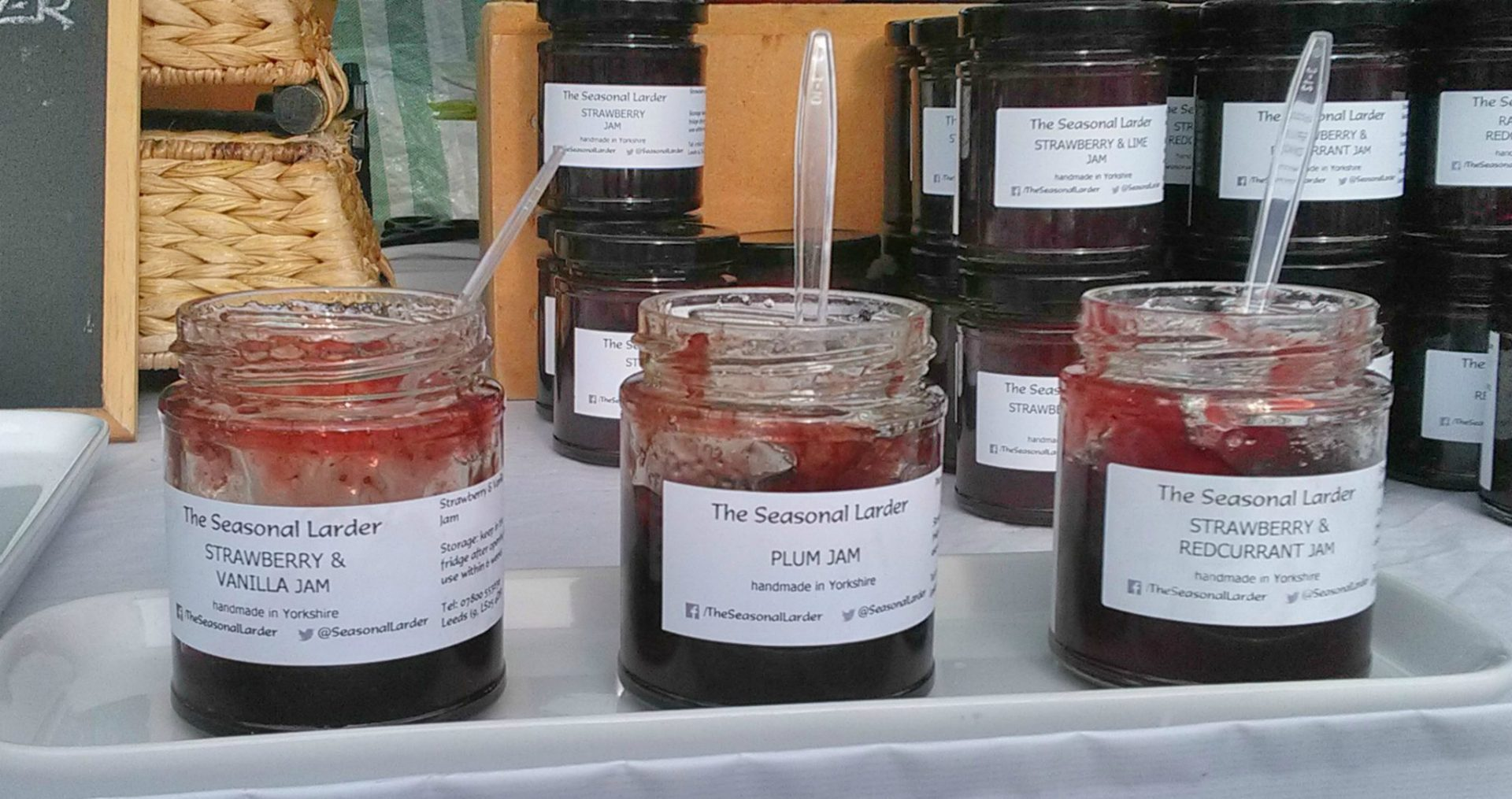 Locally made Handmade preserves, jams & cordials made in Yorkshire, from locally grown seasonal fruits. Leeds Indie food at it's best from Fabrication