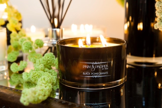 Luxury hand-poured soy wax candles in ambient fragrances, available from Fabrication Crafts, the best place to shop in Leeds