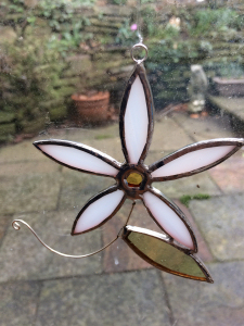 Beautiful Stained glass ornaments available from Fabrication Crafts, Leeds' Independent Department Store, the best place to shop