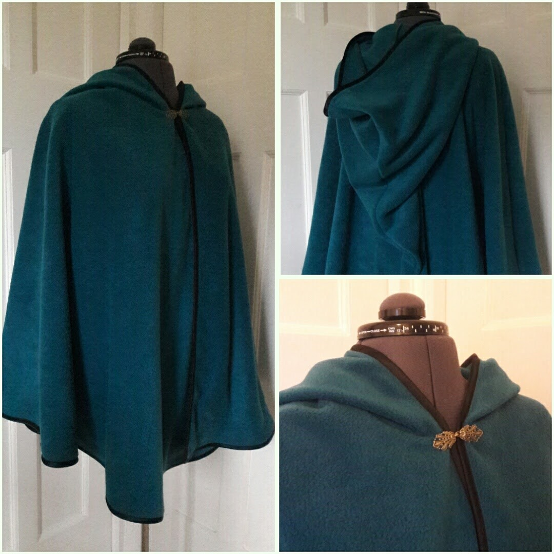 Cloaks & capes bespoke handmade in England Rowan Tree Designs Range of styles available. Buy at Fabrication Crafts off the peg or order a bespoke cloak.