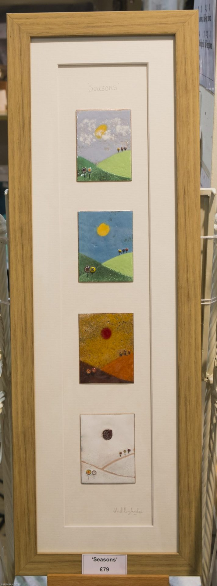 contemporary enamelled items including, jewellery, wall art & homewares from Fabrication Crafts independent shopping in Leeds