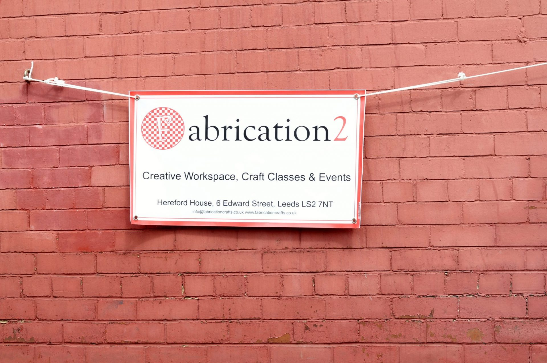 Fabrication2 is our new creative workspace, with rentable facilities for sewing, costume making and jewellery. Also where we hold our classes and courses