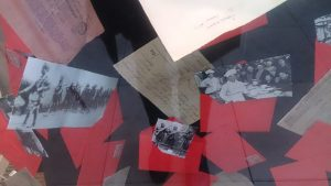 Remembrance day 2017 at Fabrication Crafts, commemorating wilfred owen & passchendaele