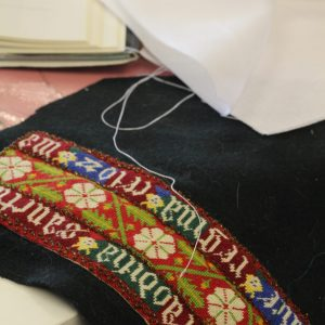 Medieval embroidery intermediate Course. Learn medieval embroidery techniques in Leeds City Centre on this 1 day workshop