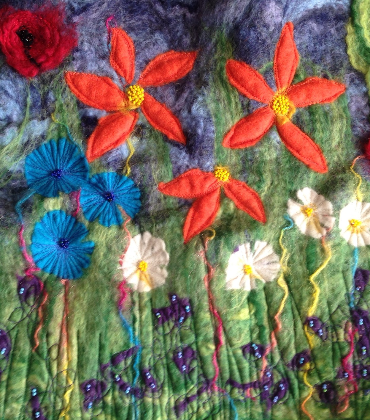 Hand Felted Art Workshop for beginners Leeds City Centre In this workshop you will create an attractive and completely unique felted scene using either your own selected image or one supplied as inspiration.