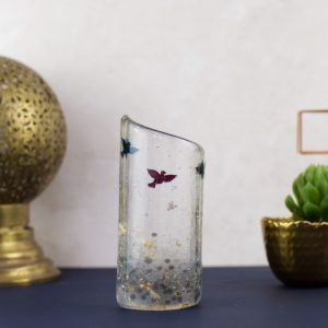 beautiful glass homewares and jewellery by Twice Fired, at Fabrication Crafts for unique interior design and gifts in Leeds City Centre