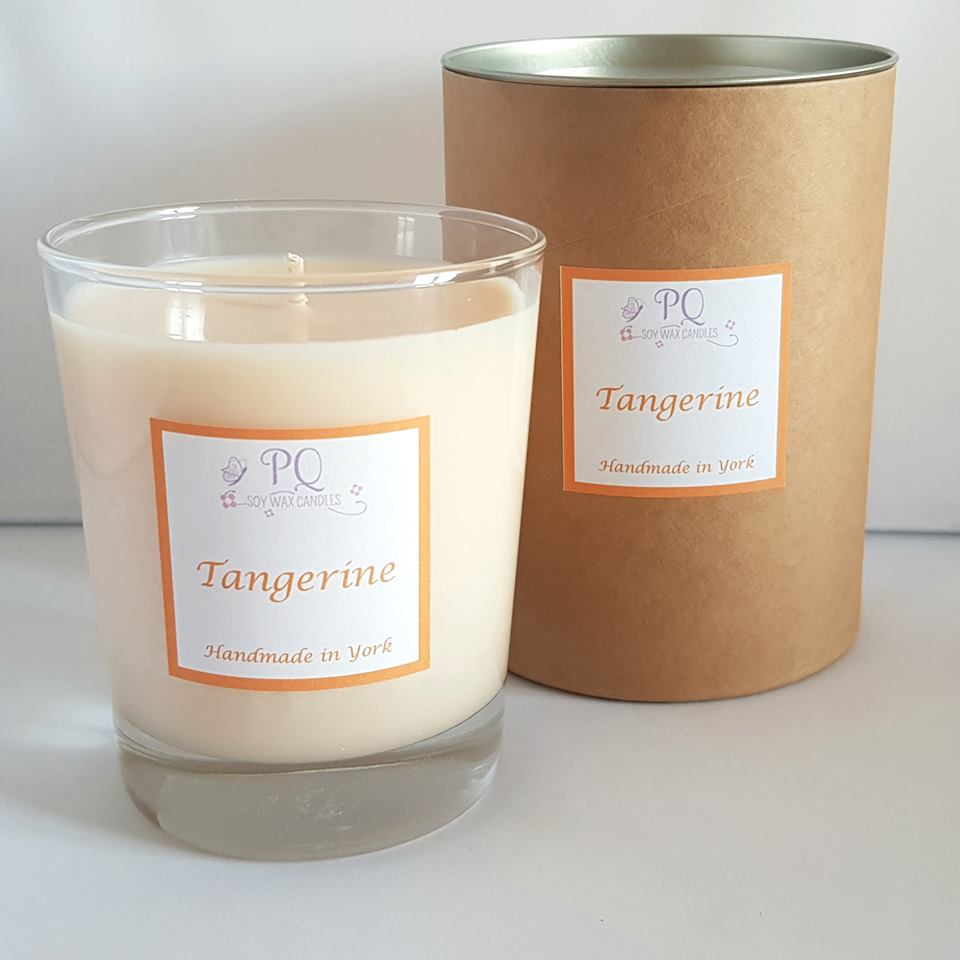 PQ Soy Wax Candles. vegan, ethical, environmentally friendly candles and melts in luxurious fragrances perfect for gifts and home from Fabrication Crafts