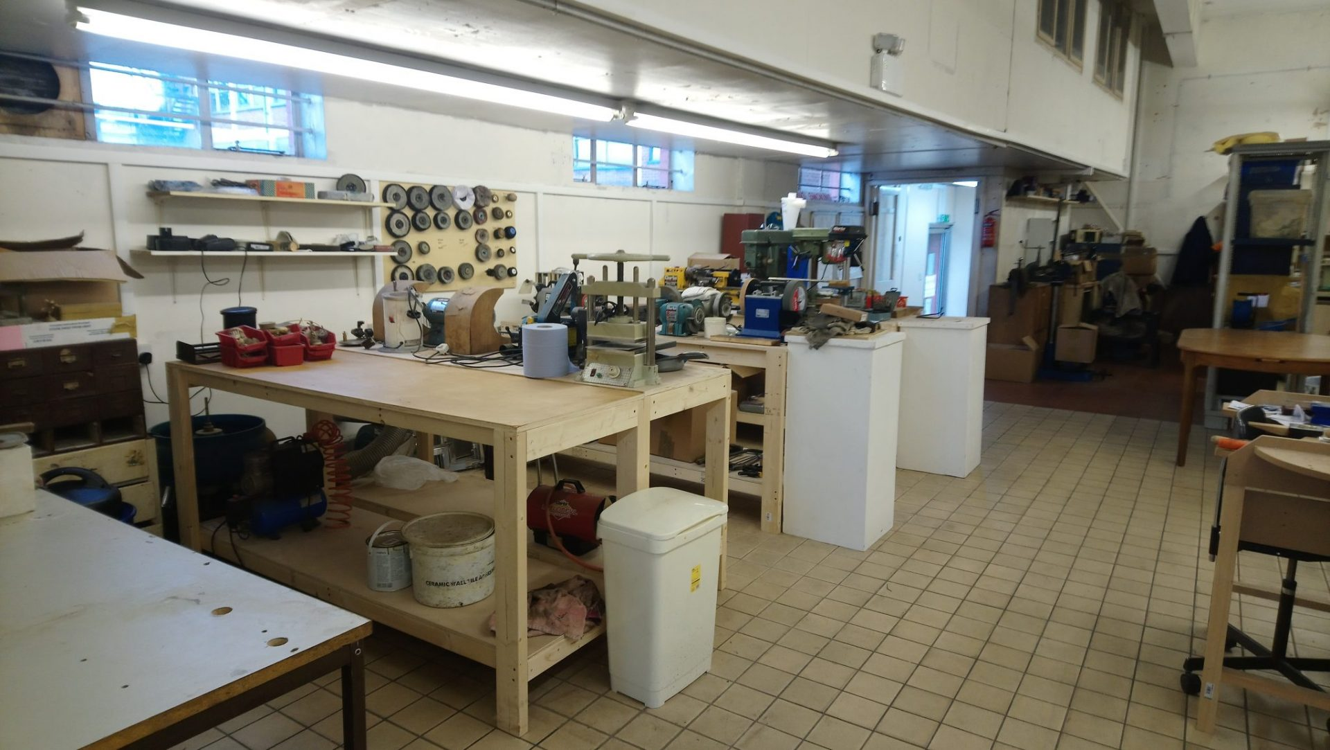 Metalwork and Craft Studio Craft, woodwork and Leatherwork space to rent in Leeds City Centre Are you looking for a space to run your Craft business ?