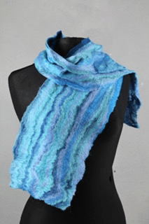 Winter Warmer Full Day: Felt Scarf and Glove Workshop