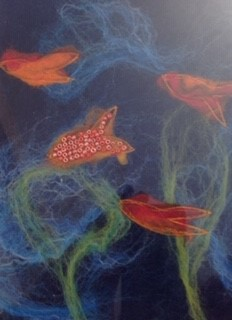 Family Felting Workshop Under the Sea Leeds City Centre Spend some quality one to one time with your child creating a wet felted piece of art