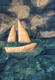 Make a Felted Seascape at our mindfulness workshop