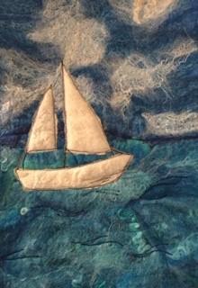 Make a Felted Seascape at our mindfulness workshop