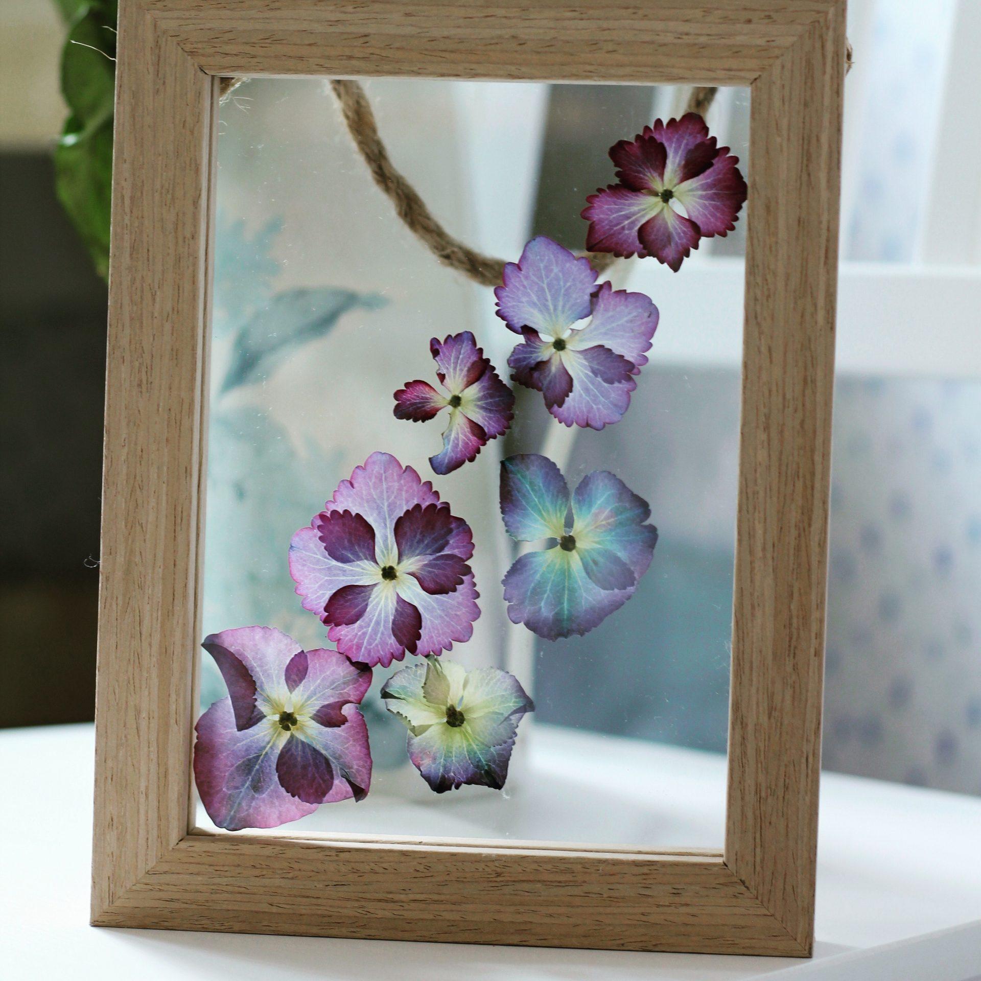pressed flower pic