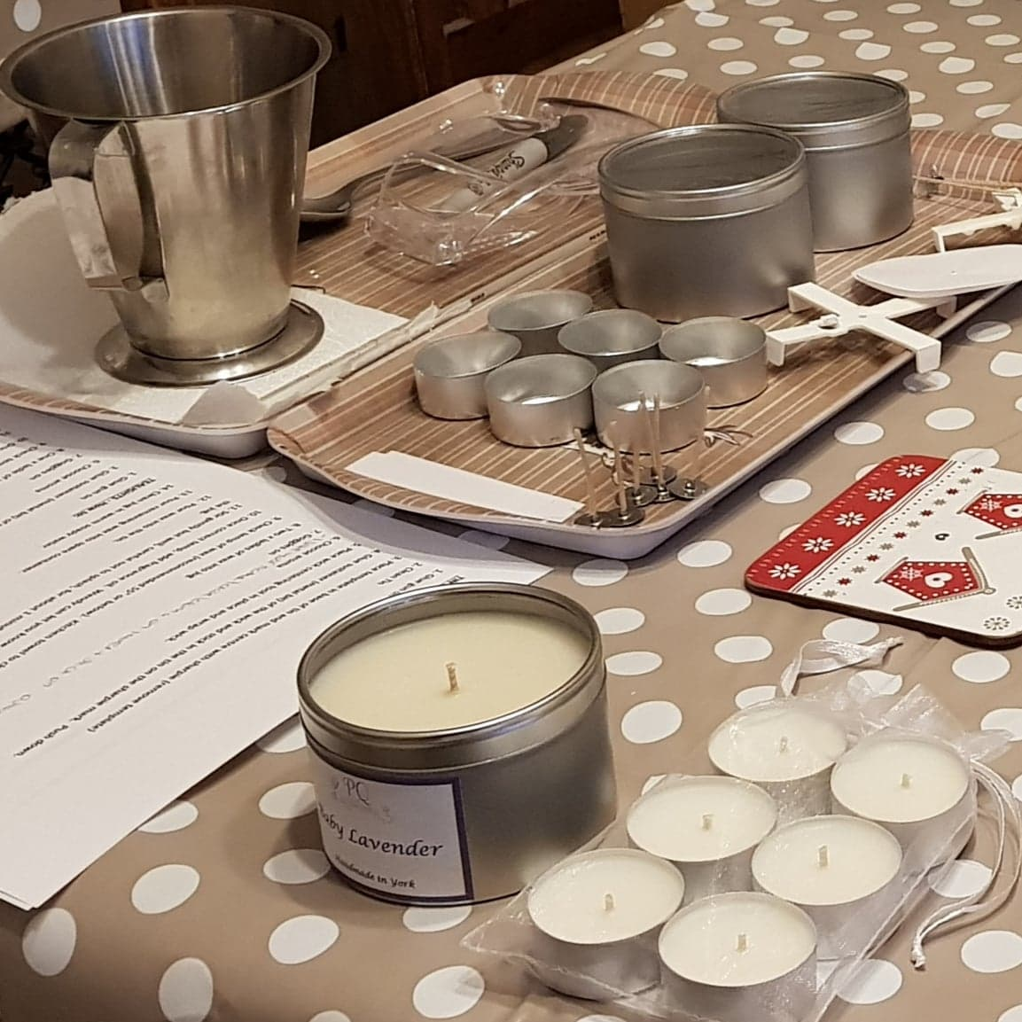 Beginners Candle Making Workshop in York city centre