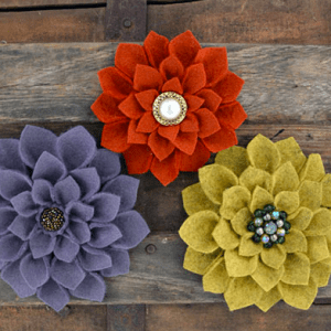 Make Felt Flowers Leeds City Centre Create a number of beautiful handcrafted Felt Flowers whilst letting go of the hustle and bustle in your life.