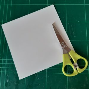 Reusing old occasions cards-A tutorial by Linette from Anachronalia. How to make envelopes (and bonus gift box idea)