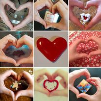 Fabrication Makers - the hands that make Valentine Lovehearts